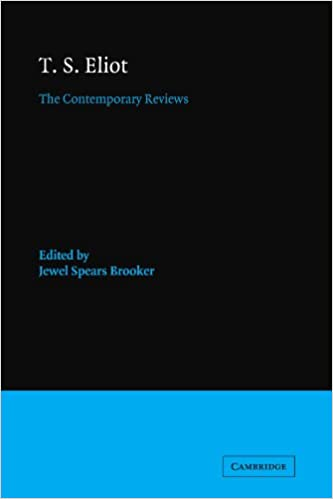 amazon com t s eliot the contemporary reviews american critical archives 9780521118989 brooker jewel books amazon com t s eliot the