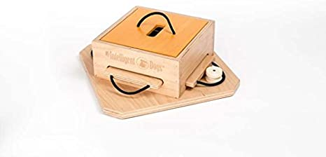 My Intelligent Dogs interactive dog toy made of wood TROUBLE, M