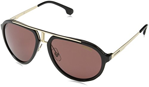 Carrera Mens Ca1003s Polarized Sunglasses, Black Gold/ W6 Burgundy, One - Sunglasses Carrera 1