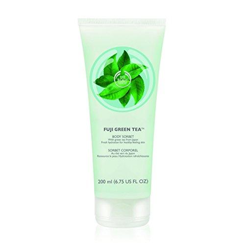 Sorbet Green (The Body Shop Fuji Body Sorbet, Green Tea, 6.75 Fluid Ounce (Packaging May Vary))