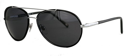Tommy Bahama 6013 Designer Sunglass Readers in Silver-Black +2.50 ()