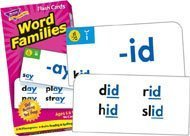 Trend Enterprises T53014 Flash Cards, Word Family Skill Dril
