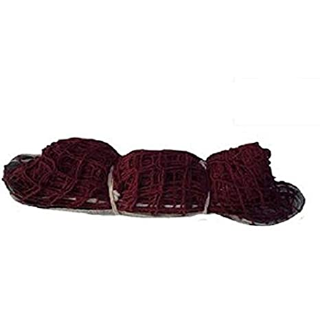 NETCO POWER Cotton Badminton NET 150 NO  Maroon  Pack of 1 Badminton Nets