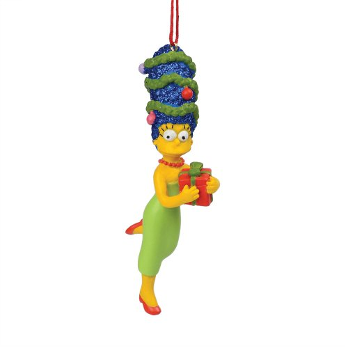 Department 56 The Simpson's Marge has a Gift Hanging Ornament