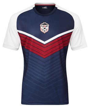 International Soccer Jersey (Xara Soccer International V4 Shirt - USA - Large)
