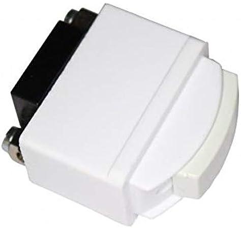 Solera 531 - Interruptor unipolar 6A 250V.Empotrar: Amazon.es: Bricolaje y herramientas