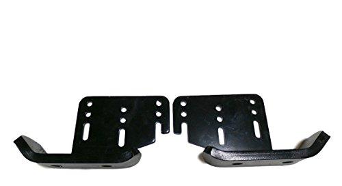 """John Deere HD Skid Shoe Set AM122263 AM122264 44"""" 47"""" Snowblower GX LT GT 100 300 400 700 Series"""