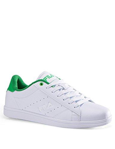 Men's Classic Tennis Fila Green White Shoes vFqn6wA