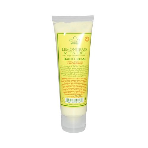 Nubian Heritage Hand Cream Lemongrass And Tea Tree -- 4 oz by Nubian - Elizabeth Stores Mall