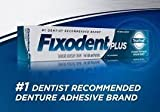 Fixodent Fixodent Plus TrueFeel Denture Adhesive Cream 2 oz (3 pack) by Fixodent