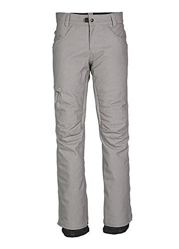 686 Womens Pants - 686 Women's Patron Insulated Pants, Light Grey Denim, X-Small