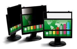 MMMPF322W - 3M PF322W Framed Privacy Filter for Widescreen Desktop LCD/CRT Monitor Black