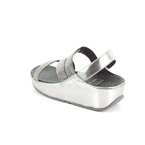 0983972a902b FitFlop Womens Crystall Z-Strap Sandal free shipping - appleshack.com.au