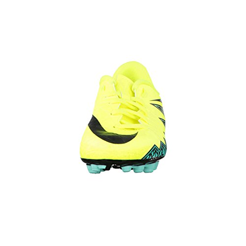Nike Unisex Baby Jr Hypervenom Phelon II AG Fußballschuhe Amarillo (Volt / Black-Hyper Turq-Clr Jade)