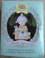 Precoius Moment Ornament: I'll Be Home for Christmas (Moments Precoius)
