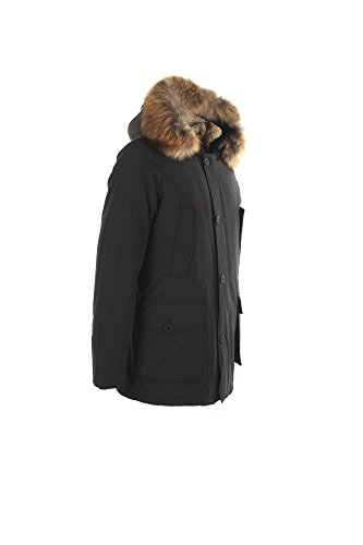 Parka Uomo Freedom Day Xl Nero Ifrm5000n-600 Fur Autunno Inverno 2016/17