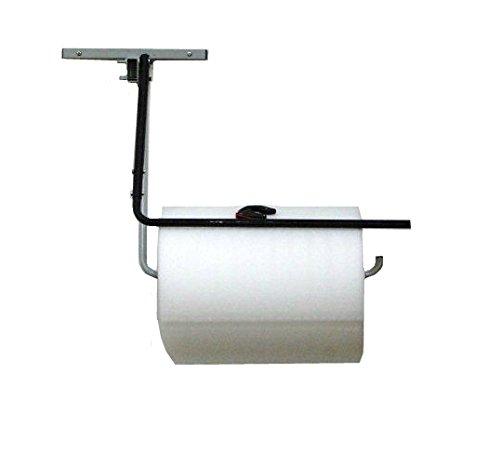 24'' Single Arm Wall Mount Bubble Wrap® & Foam Roll Dispenser w/ Slide Cutter by FastPack Packaging