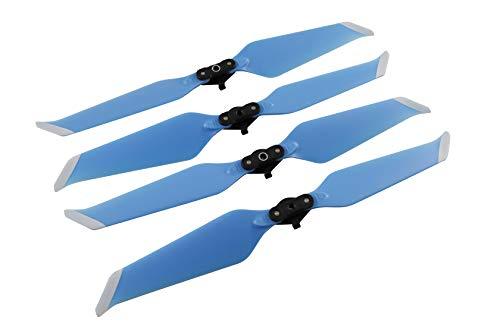 Huaye Mavic 2 Drone PC Paddle 8743F Propellers Quick Release Folding Drone Accessories DJI Mavic 2 Pro/Mavic 2 Zoom (Blue, 2 Pairs)