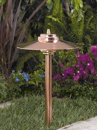Vista Copper Path Lights in Florida - 6