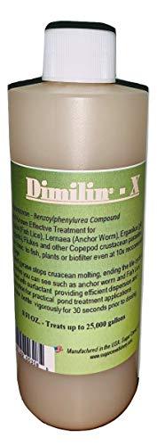 - Dimilin-X Koi & Goldfish Treatment: Anchor Worm Fish Lice Flukes diflubenzuron