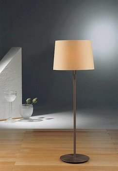 Holtkoetter Floor Lamp with Illuminator, Hand-Brushed Old Bronze with Kupfer Shade