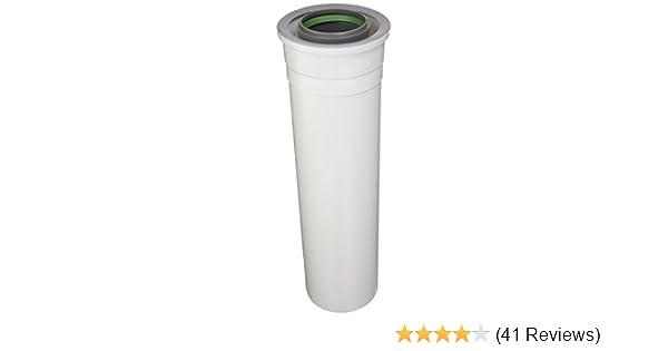 x 12 in Plastic Condensing Horizonatal Termination Vent Kit Rinnai 3 in //5 in