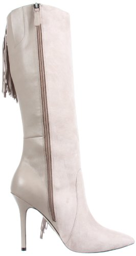 Grey High Women's Boot Knee 9 Joker Boutique Light qZ5w0IWn