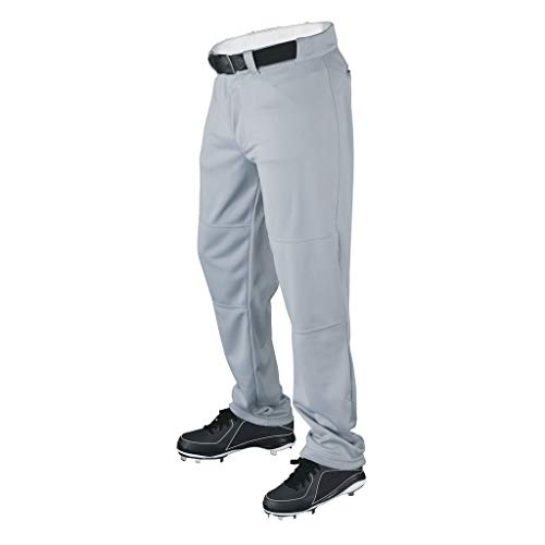 Wilson Men's Classic Relaxed Fit Baseball Pant, Grey, Medium