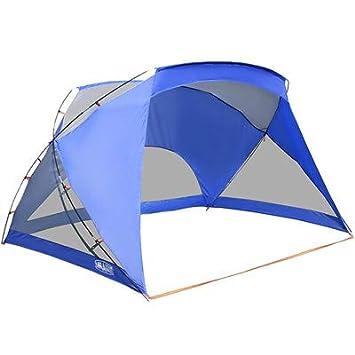 pretty nice 15094 65cc4 ALPHA CAMP 3 Person Sports/Beach Shelter Easy Up Sun Shade - 9' x 6'