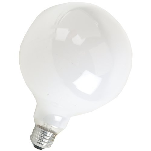 SYLVANIA Soft White Globe, 60 Watt (Screw Medium G40)