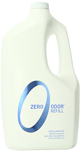 Zero Odor General Household Odor Eliminator Refill Pack, 64-Ounce, 2-Pack