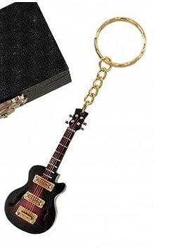 REGALOS LLUNA Llavero Miniatura Musical (Llavero Guitarra ELECTRICA Marron): Amazon.es: Hogar