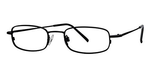 Flexon Flx 803Mag-Set Eyeglasses 002 Mat Black Demo 49 19...