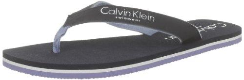 f9b8c13ce76 Calvin Klein Logo Tape Flip Flop