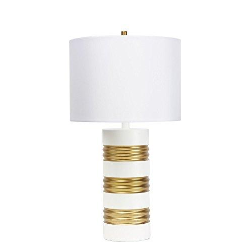 (Silverwood CPLT1545 Chloe Table Lamp, White)