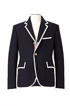 Thom Browne for Neiman Marcus + Target Navy Wool Blazer Size Medium by Thom Browne (Image #9)