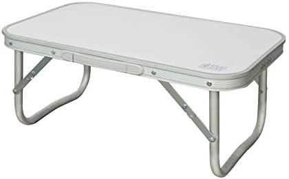 AKTIVE 52869 - Mesa baja de aluminio para camping AKTIVE 56x34x24 cm