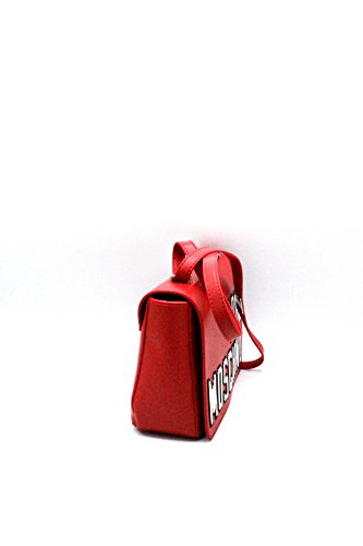 Love Moschino Pixel shoulder bag red
