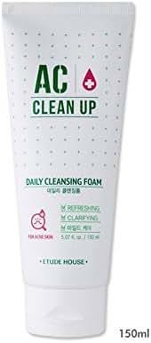Etude House Acne Clinic Foam Cleanser, 5.07 fl.oz.