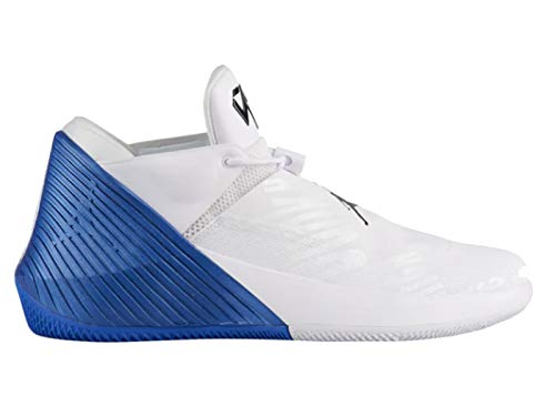 Nike Men's Jordan Why Not Zero.1 Low White/Black/Hyper Royal/Russell Westbrook Synthetic Basketball Shoes 13 D(M) US (Men Nike Basketball Shoes Hyper)