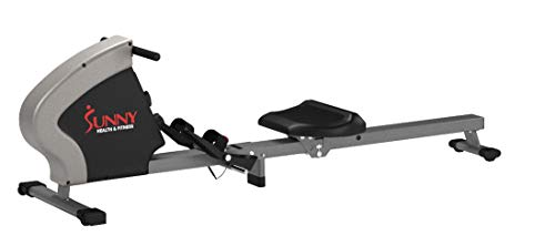 Sunny Health & Fitness Compact Folding Magnetic Rowing Machine Rower, LCD Monitor with Tablet Holder - Synergy Power Motion - SF-RW5801 by Sunny Health & Fitness (Image #18)