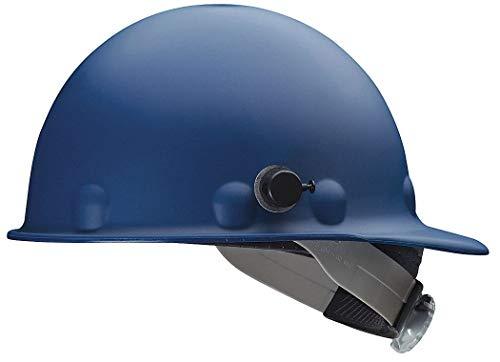 Fibre-Metal Roughneck Blue Fiberglass Cap Style Hard Hat - 8-Point Suspension - Swing Strap Adjustment - Reversible Suspension, Strip-Proof - P2AQSW71A000 [PRICE is per EACH] ()