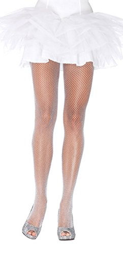 White Lycra Fishnet - 5