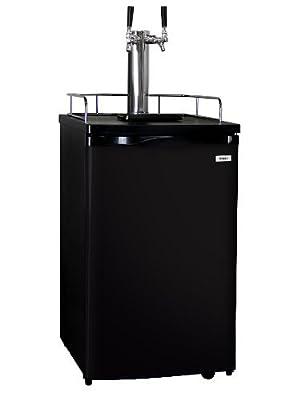 Kegco Kegerator Full-Size Keg Cooler - Dual Faucet - Amazon Parent Product