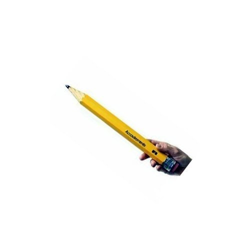 Archie McPhee - Really Big Pencil - Write and Erase! - Use it at Home, School, Anywhere - 15