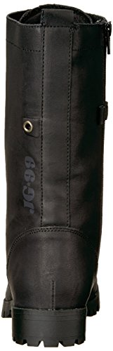 Sugar Women's Mid Lace Black Calf Boot up Combat Tegan xpwxnrd1qR