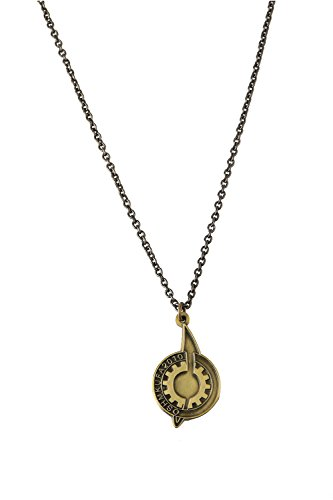 Steins Gate Pin Necklace for Lab Member Props Accessories Zinc Alloy