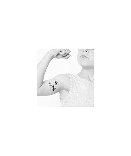 Tatuaje efímero infantil, diseño de BMX: Amazon.es: Belleza