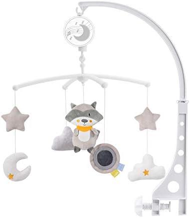 Fox Konig Kids Wind-Up Baby Musical Crib Mobile