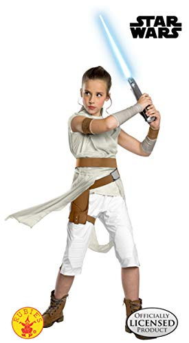 Rubie's Official Disney Star Wars Ep 9, Rey Deluxe Childs Costume